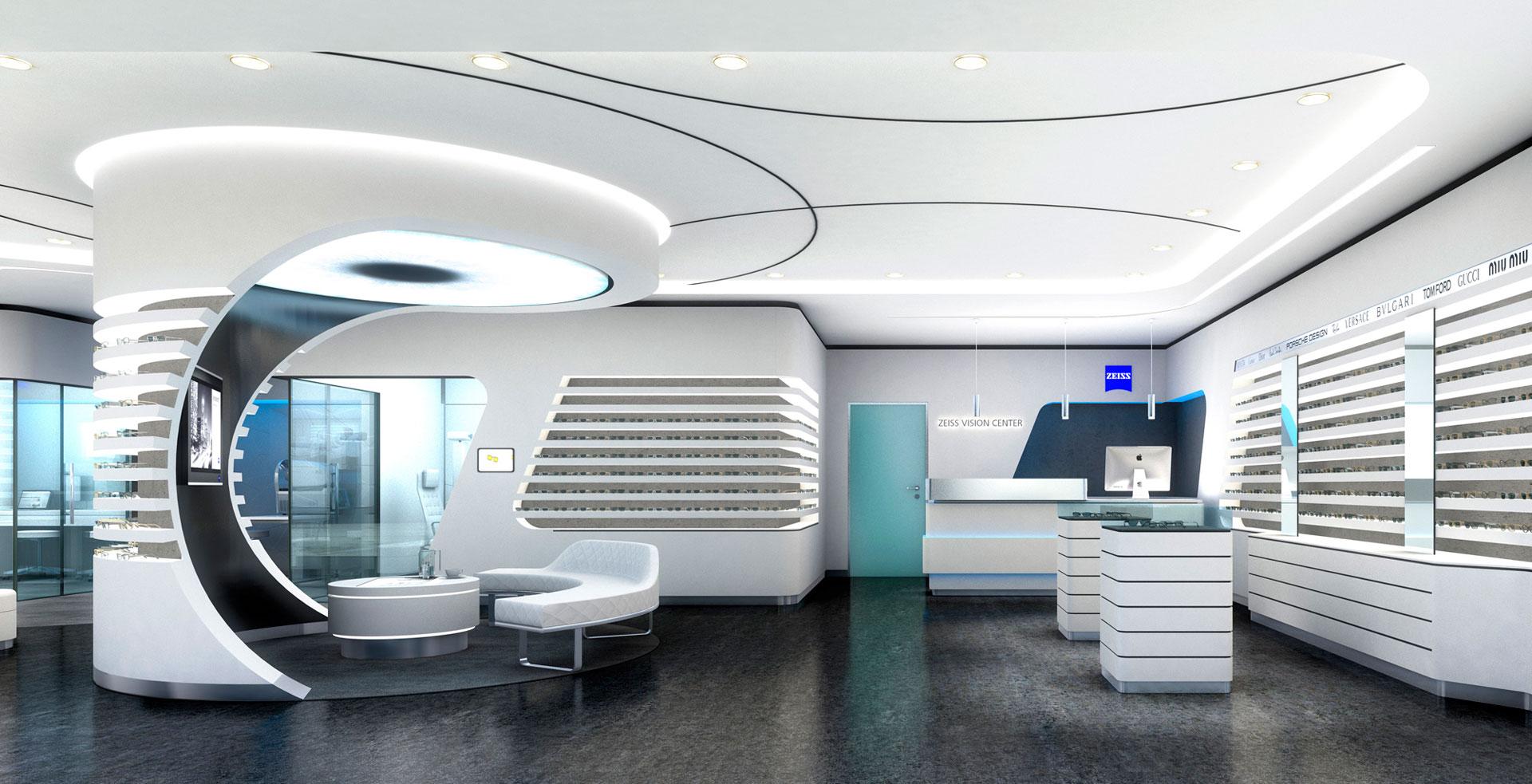 ZEISS VISION CENTER - PATTERN STORE | Labor Weltenbau