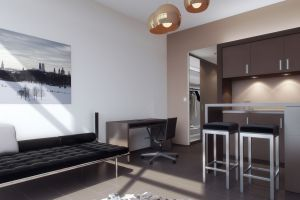 Interior Design Single Apartments Munich